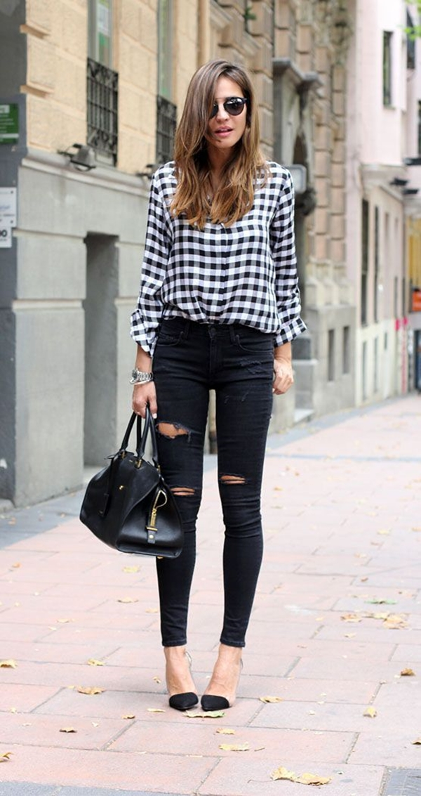 40-gingham-shirt-outfit-for-every-season-26