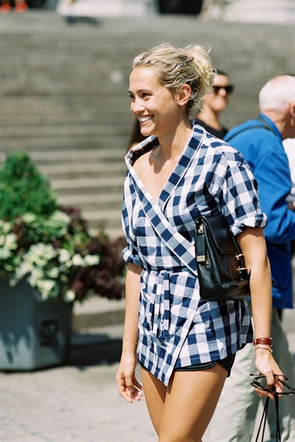 40-gingham-shirt-outfit-for-every-season-27