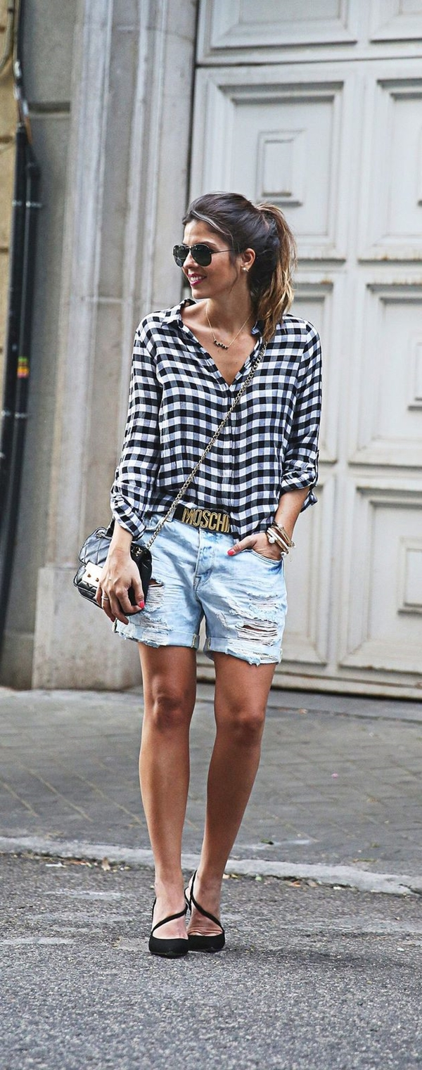 40-gingham-shirt-outfit-for-every-season-30