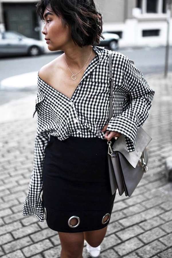 40-gingham-shirt-outfit-for-every-season-32