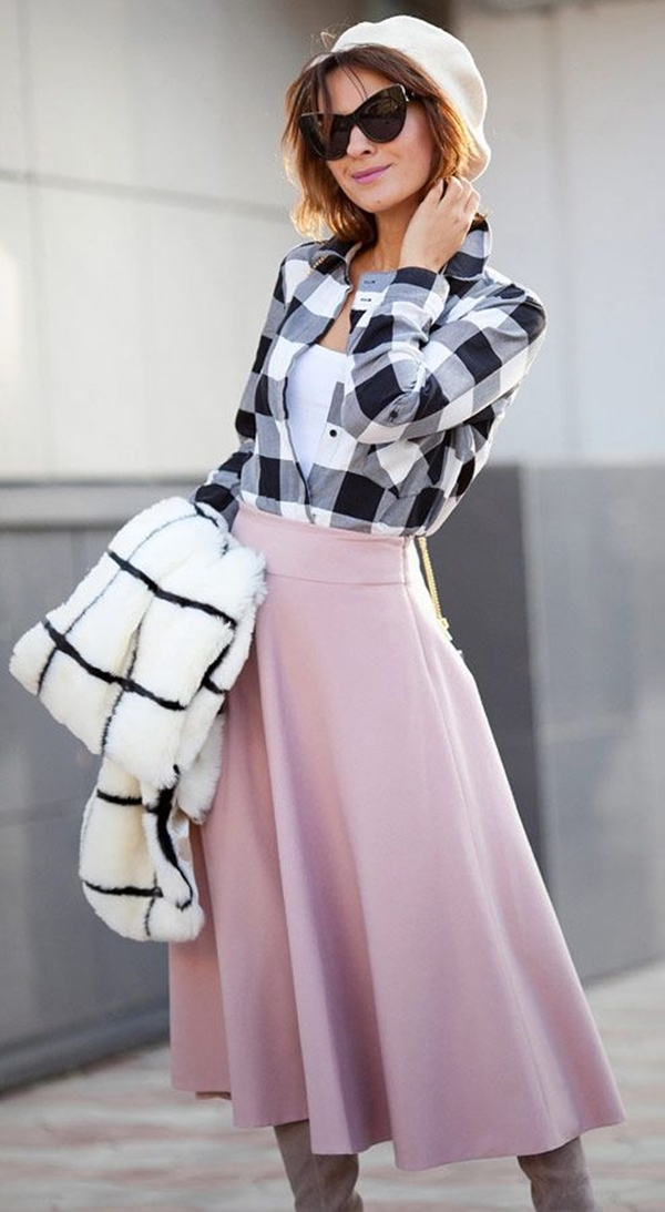 40-gingham-shirt-outfit-for-every-season-34