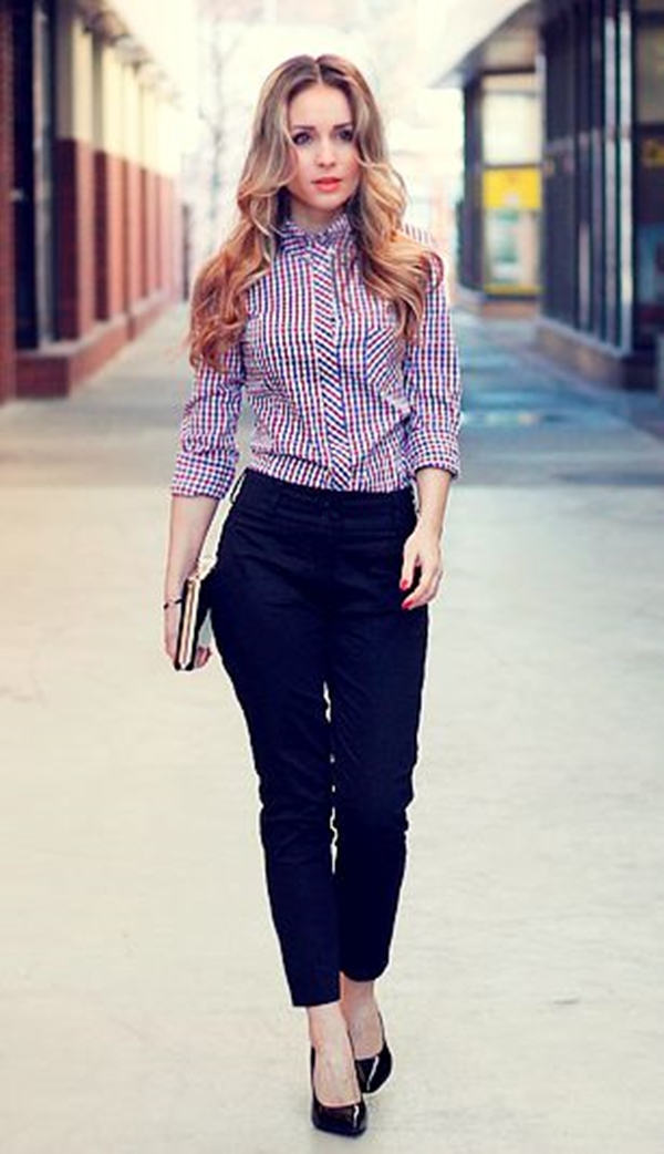 40-gingham-shirt-outfit-for-every-season-35