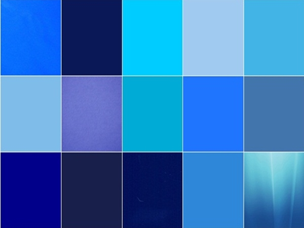 0 Por Shades Of Blue Color