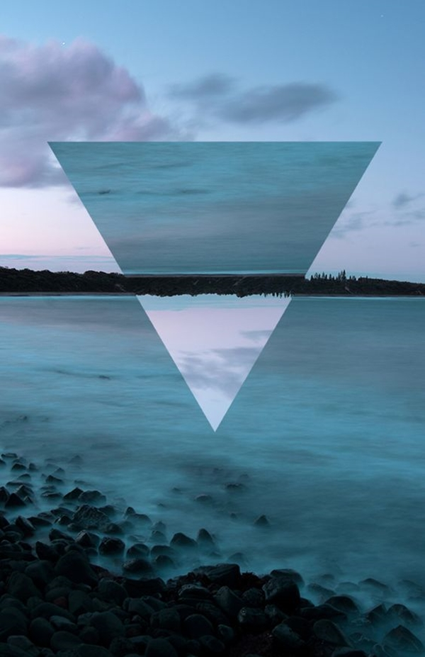 Geometric iPhone wallpapers - (10)