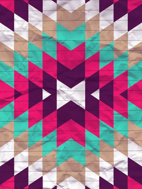 Geometric iPhone wallpapers - (11)