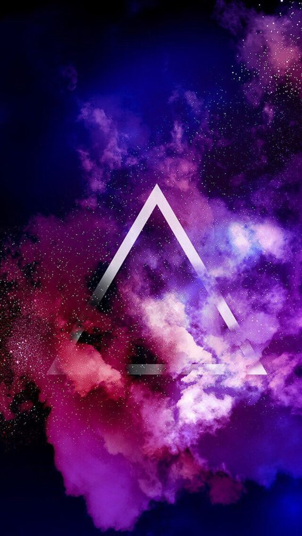 Geometric iPhone wallpapers - (17)