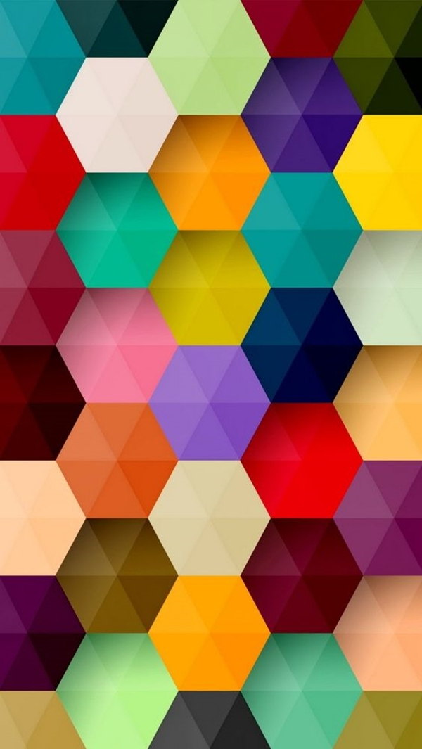 Geometric iPhone wallpapers - (23)