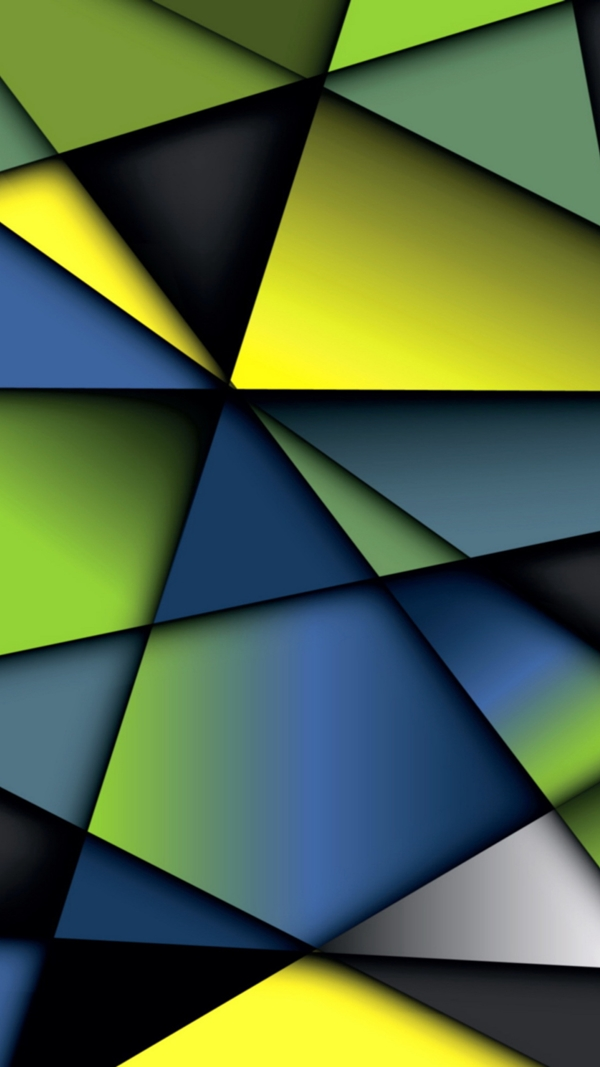 Geometric iPhone wallpapers - (28)