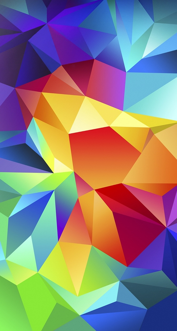 Geometric iPhone wallpapers - (37)