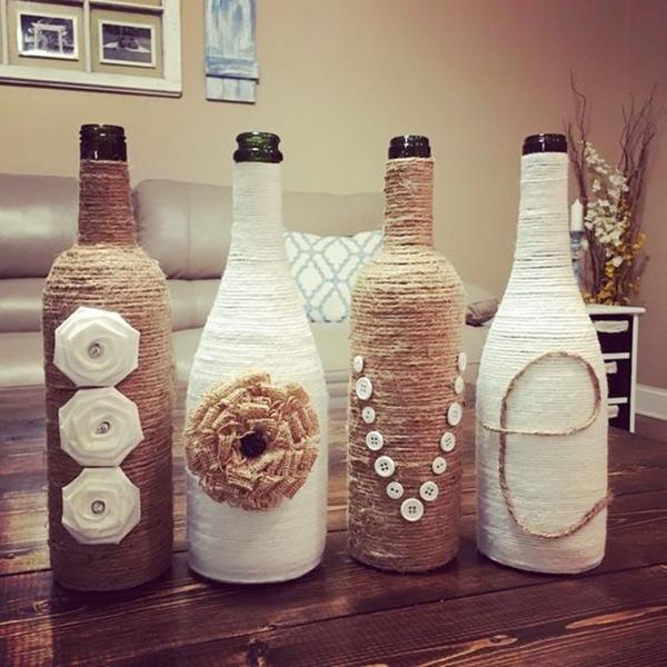 Wine Bottle Art Ideas - 12