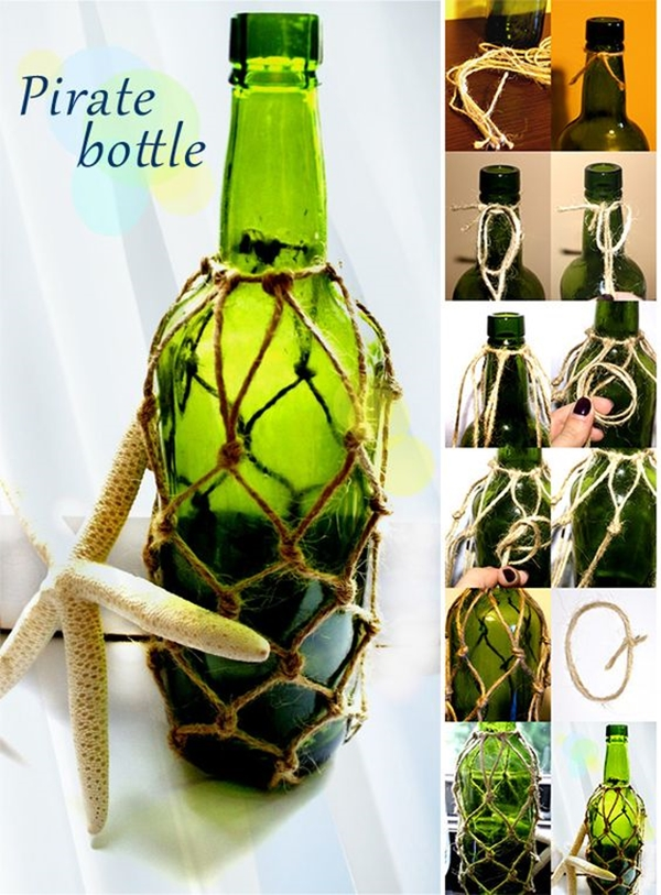 Wine Bottle Art Ideas - 25