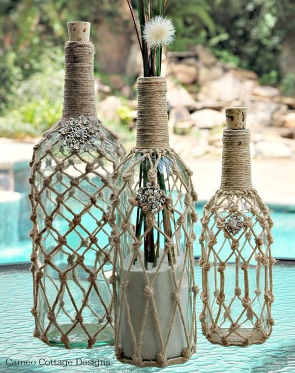 Wine Bottle Art Ideas - 26
