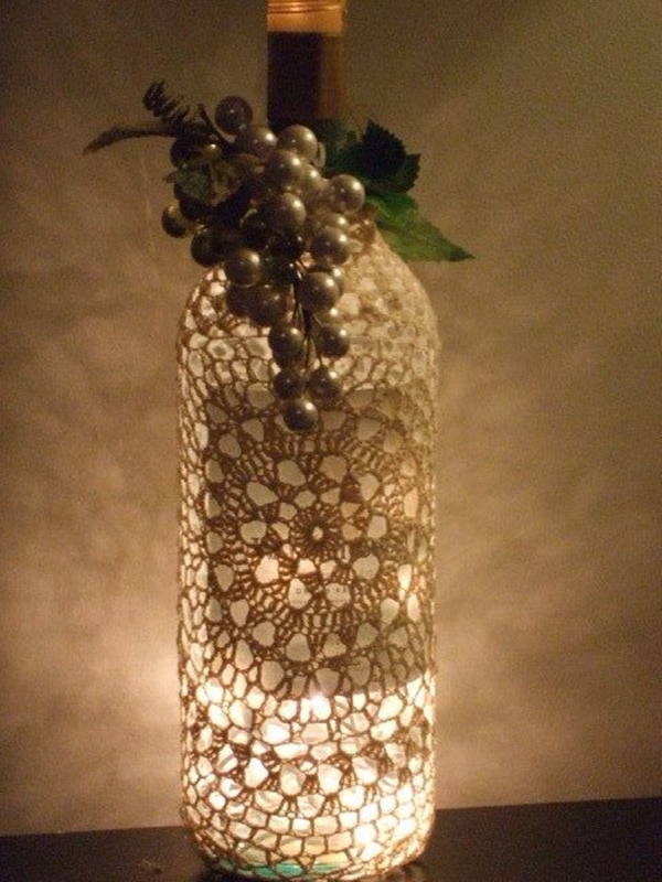 Wine Bottle Art Ideas - 5