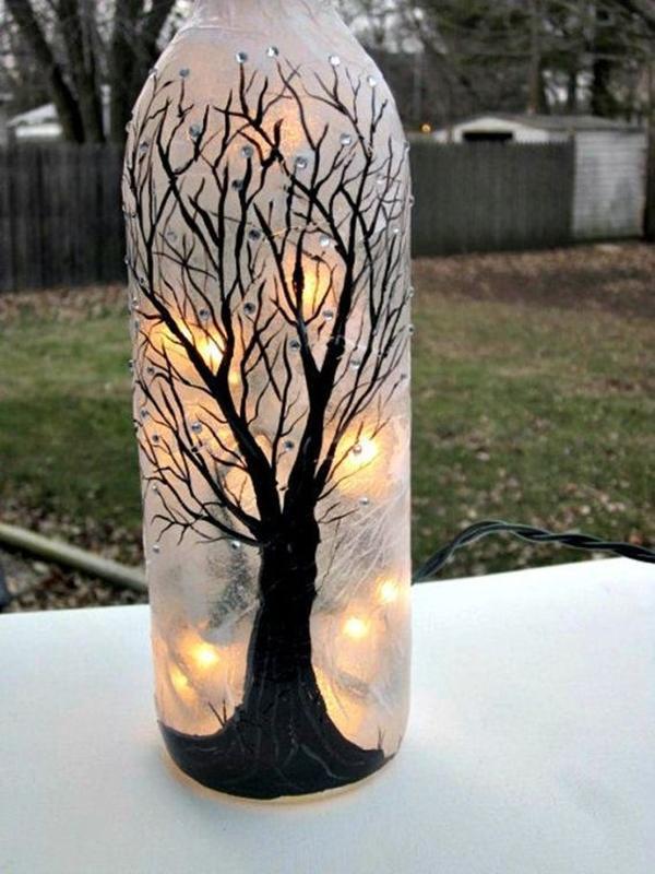 Wine Bottle Art Ideas - 8