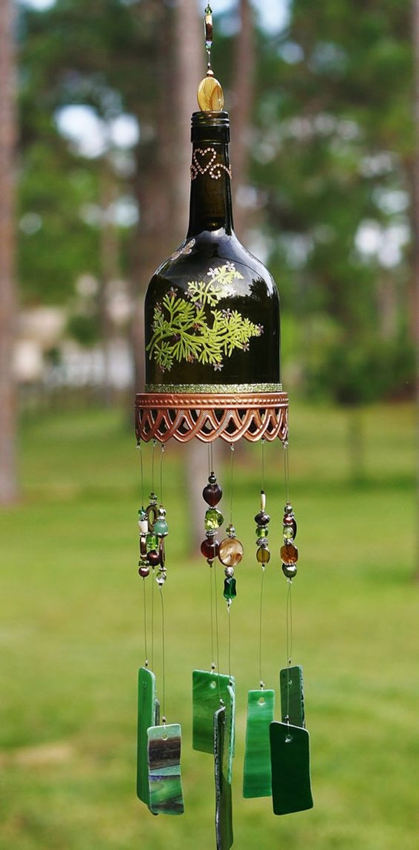 Wine Bottle Art Ideas - (9)