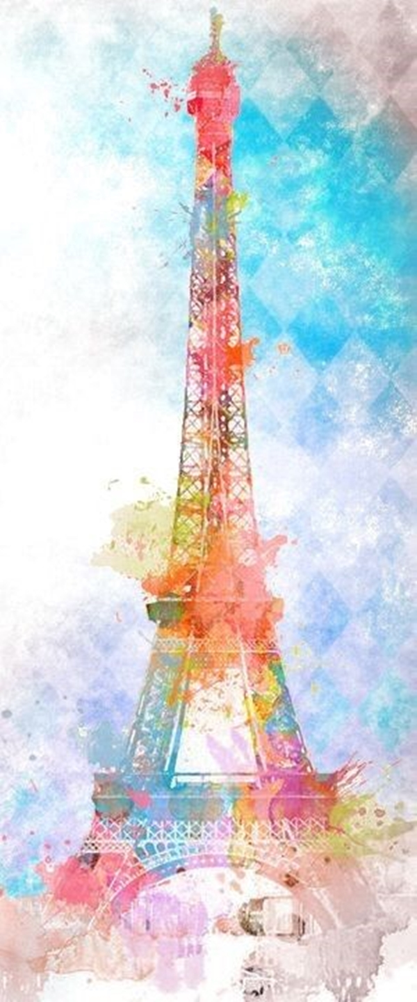 beautiful and detailed Eiffel Tower drawings - (6)