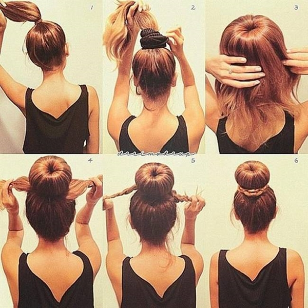 40 Easy Peasy Bun Hairstyle Tutorials For Two X Chromosomes