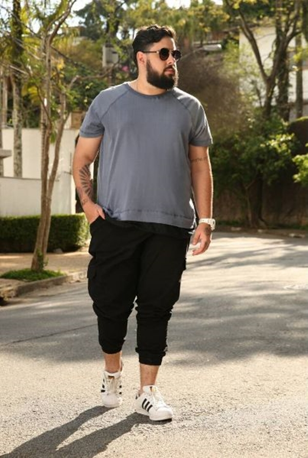 10 Plus Size Fashion Outfits For Large Men