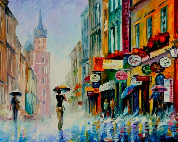 Artistic Oil Painting Examples