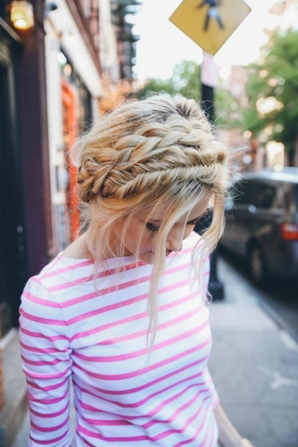 40 Cute and Sexy Braided Hairstyles for Teen Girls - Fishtail Hairstyle