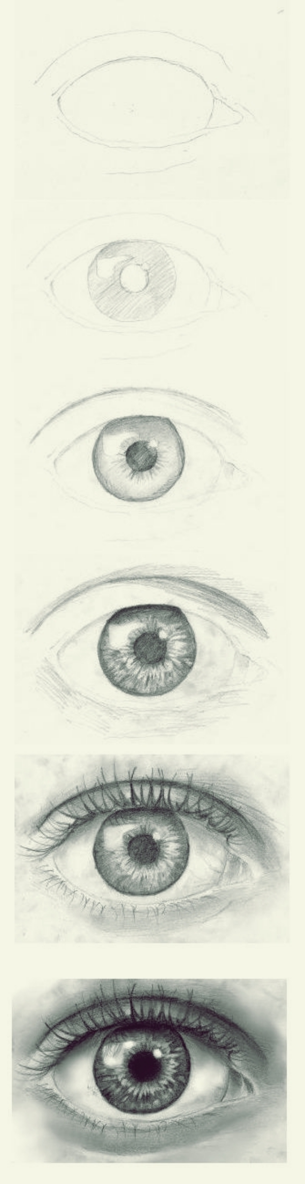 How To Draw An Eye Step By Step Pictures Guides