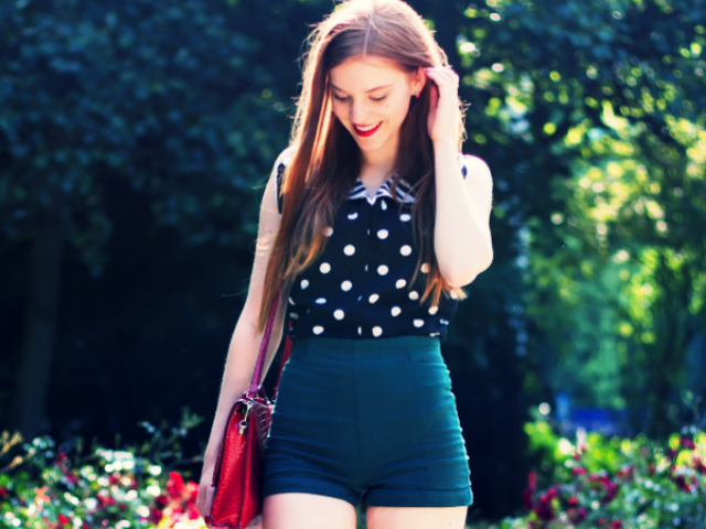 40 Lovely Polka Dots Outfits For Girls