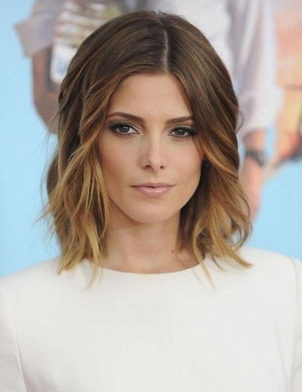 40 Schulter Länge Frisuren sollte jede Frau versuchen