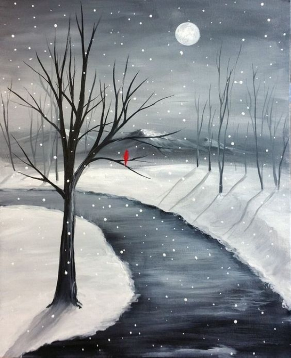 Simple-and-Easy-landscape-painting-ideas-30