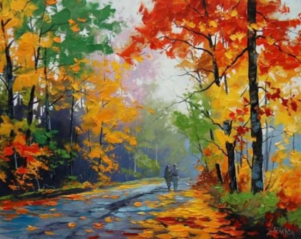 Simple-and-Easy-landscape-painting-ideas-35