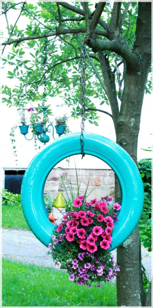 20 smart ways to use old tires for What can old tires be used for
