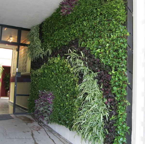 10 super creative vertical garden ideas for Vertical garden designs