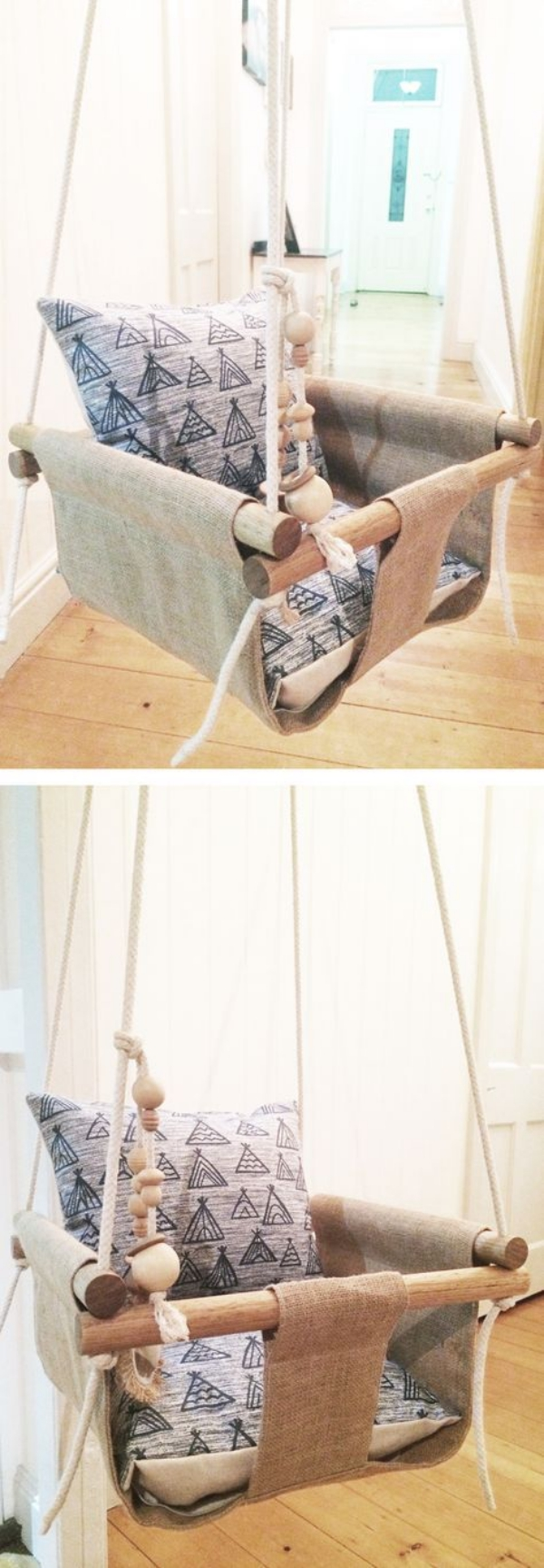 30 homemade diy swing ideas indoor outdoor for Easy diy gifts for boys
