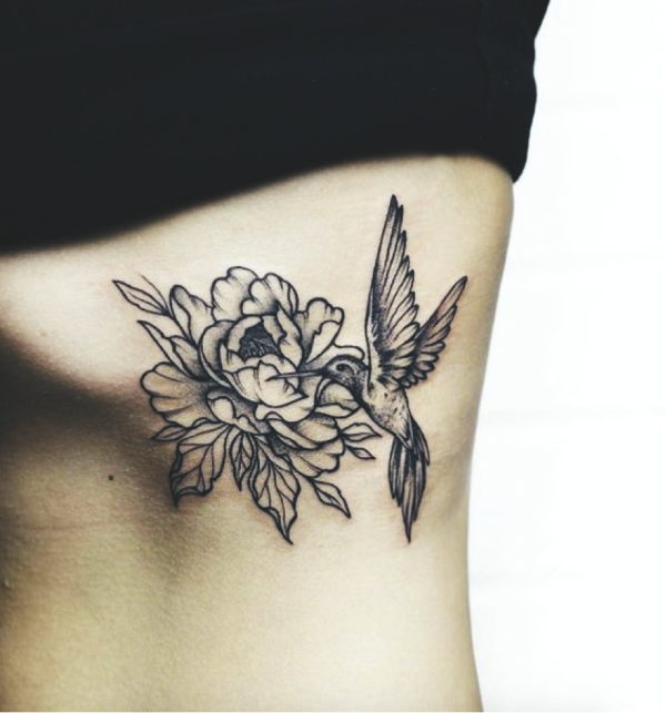 20 stunning hummingbird tattoo ideas for Hummingbird tattoo designs