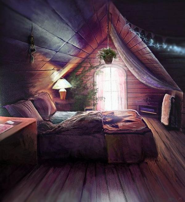 Romagical-Attic-Bedroom-Ideas