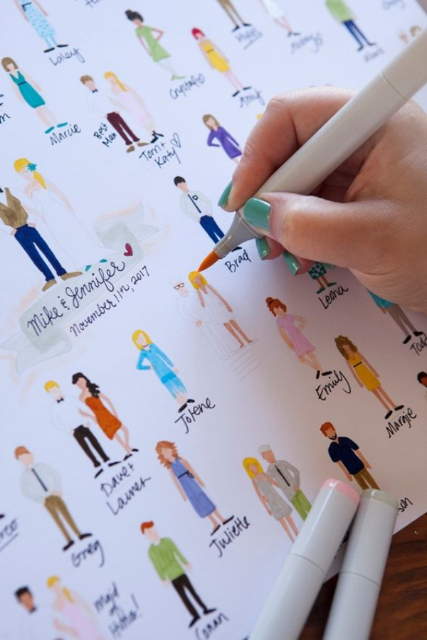 20 Unique Wedding Guest Book Ideas