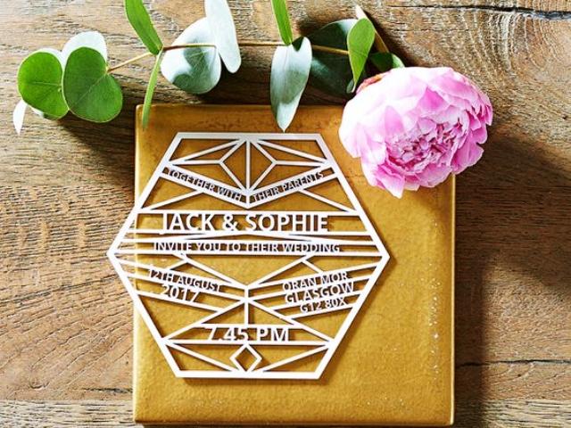 40 Unique And Modest Wedding Invitation Card Ideas