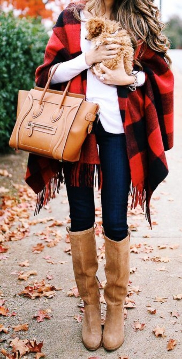 40 Trend Setting Winter Outfits with Boots - Buzz 2018