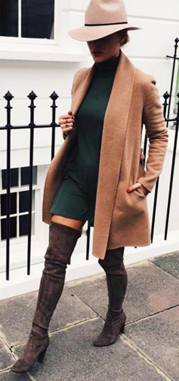 40 Trend Setting Winter Outfits with Boots