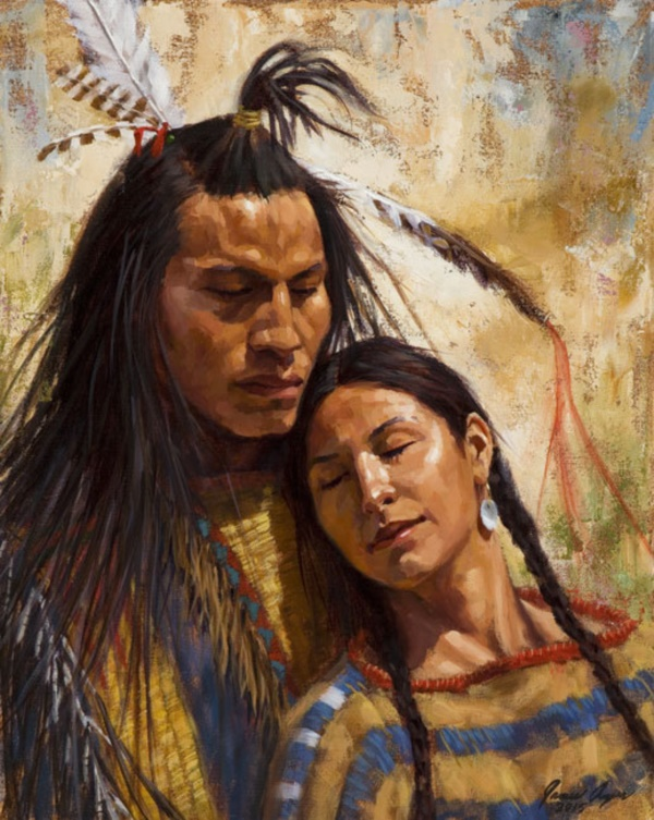 10+ Best Native American Paintings and Art illustrations