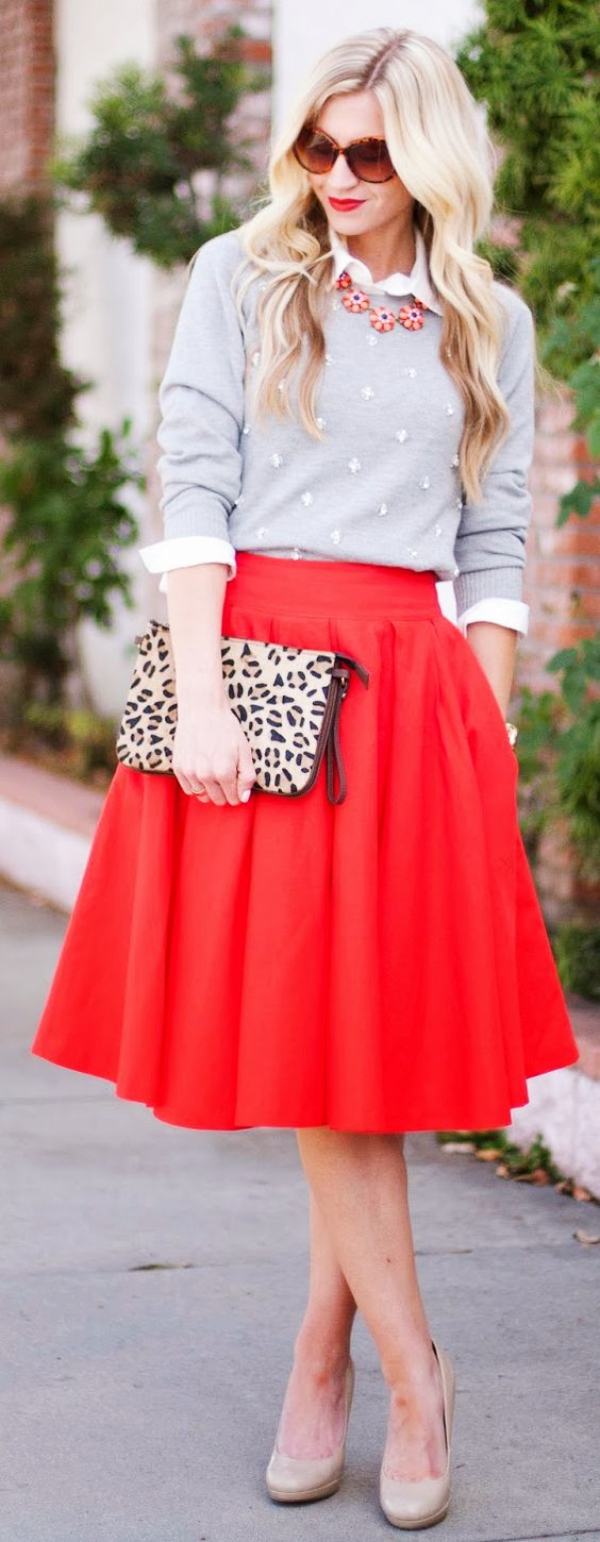 20 Ways to Wear Your Favorite Midi Skirt this Winter ...