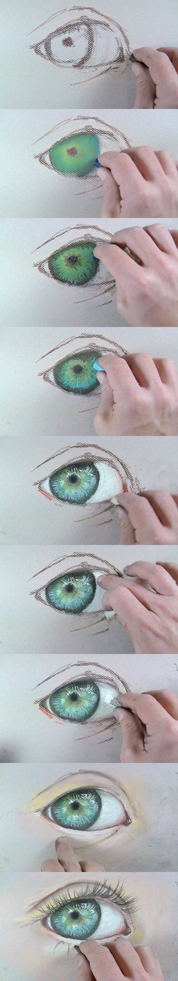God-Level-Oil-Pastel-Drawings