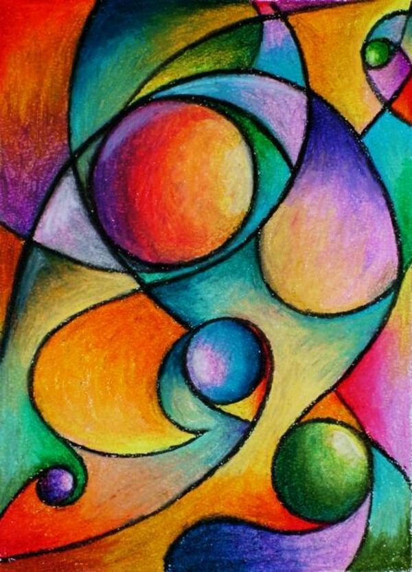 God-Level-Oil-Pastel-Drawings