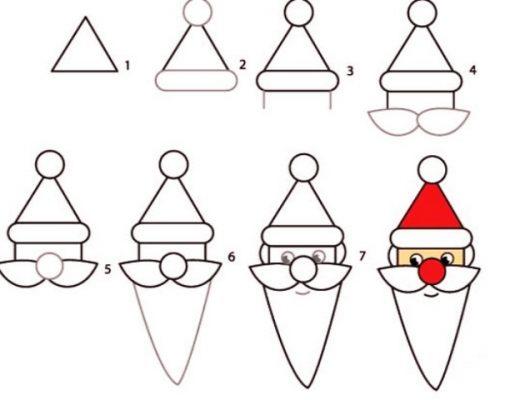 How-to-Draw-a-Cute-Santa