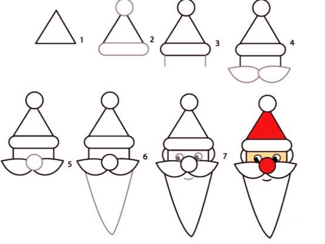 How-to-Draw-a-Cute-Santa