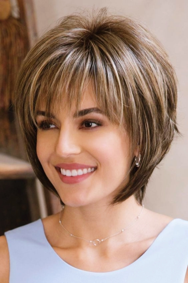 25 Sober Hairstyles for Women over 50 - Buzz 2018