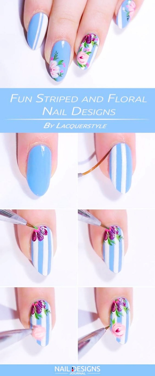 40 Tough to Paint Nail Art Ideas (2018 Edition) - Buzz 2018