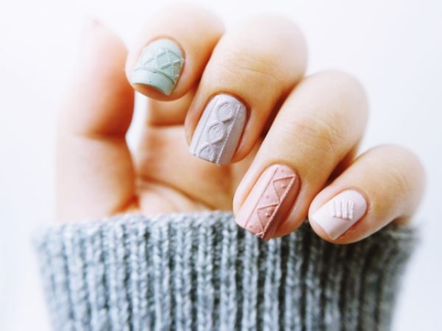 40 Tough to Paint Nail Art Ideas (2018 Edition)