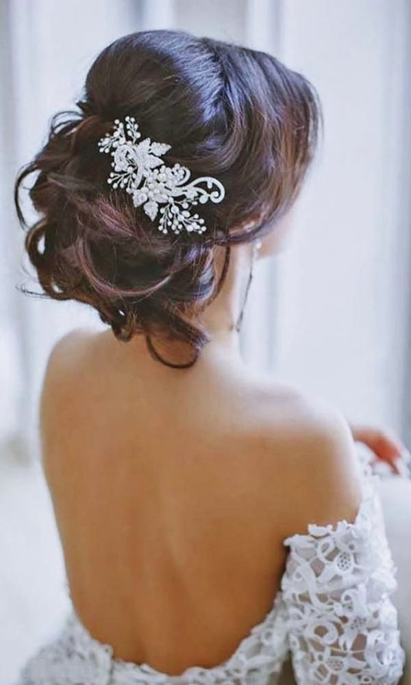 40 Gorgeous Wedding Hairstyles For Long Hair Buzz 2018