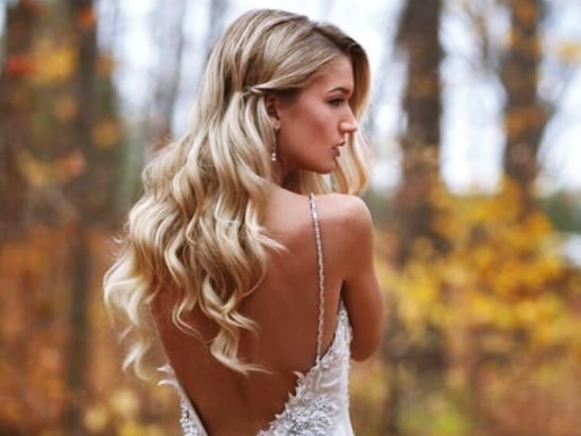 haircut style for long hair 40 gorgeous wedding hairstyles for hair buzz 2018 2155 | Gorgeous Wedding Hairstyles For Long Hair feature 1
