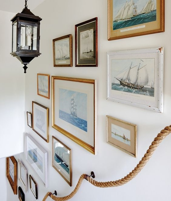 unique-stair-wall-decoration-ideas